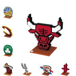 NBA Basketball 3D BRXLZ Team Logo Puzzle Construction Block