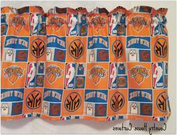 NBA Basketball NY New York Knicks Handmade Window Curtain Va