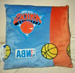 "NBA New York Knicks 14"" x 14"" x 4"" Throw Pillow"