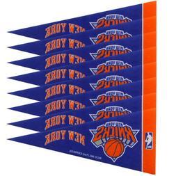 NBA New York Knicks 8-Pack 4'' x 9'' Royal Blue Mini Pennant
