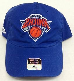 NBA New York Knicks Adidas Buckle Back Cap Hat Beanie Style
