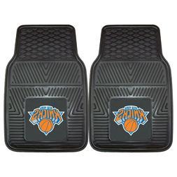 Fanmats NBA New York Knicks Car Truck 2 Front Heavy Duty Rub