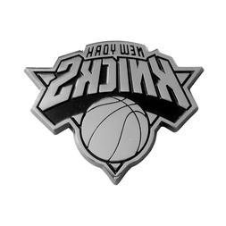 Fanmats NBA New York Knicks Chrome 3D Emblem-Car Truck RV 2-