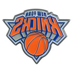 Fanmats NBA New York Knicks Color 3D Metal Auto Emblem Deliv