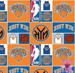 NBA New York Knicks Cotton Fabric