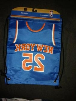 NBA NEW YORK KNICKS Drawstring Backpack 25 Rose