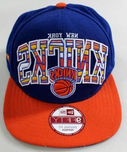 NBA New York Knicks Flat Brim Original Fit Snapback Baseball