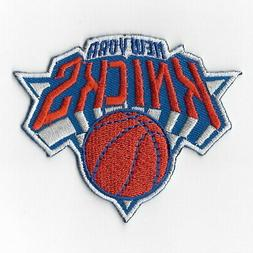 NBA New York Knicks Iron on Patches Embroidered Badge Patch