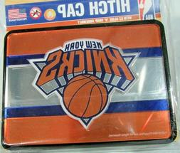NBA New York Knicks Laser Cut Trailer Hitch Cap Cover Univer