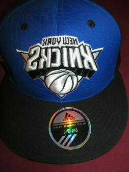 NBA New York Knicks Mens Baseball Hat Cap Flat Visor Flex 6