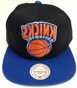 NBA New York Knicks Mitchell and Ness XL Logo Snapback Hat C