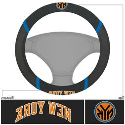 Fanmats NBA New York Knicks New Embroidered Steering Wheel C