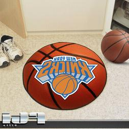 FANMATS NBA New York Knicks Nylon Face Basketball Rug