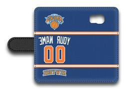 NBA New York Knicks Personalized Name/Number Samsung Phone W