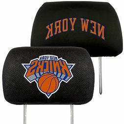 FANMATS NBA New York Knicks Polyester Head Rest Cover