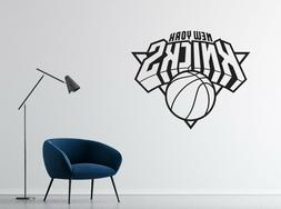 NBA New York Knicks Wall Decal Vinyl Basketball Team Room St