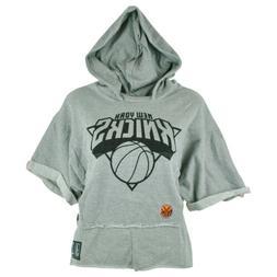 NBA Unk New York Knicks Women Ladies Rhinestone Hoodie Bat W