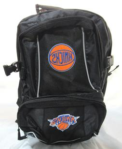 NBA NWT EMBROIDERED ADULT 3 COMPARTMENT BACKPACK - NEW YORK