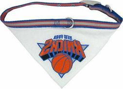NBA Pet Collar Bandana Official Licensed NBA New York Knicks