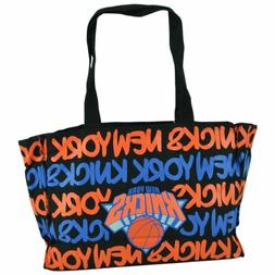 NBA Robin Ruth New York Knicks Medium Tote Hand Bag Glitter