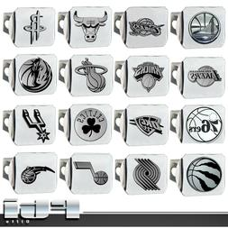 "NBA Teams Sport Basketball Chrome Metal 3D Logo 2"" Trailer H"