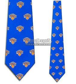 NBA Ties Mens New York Knicks Tie Basketball Sports Necktie