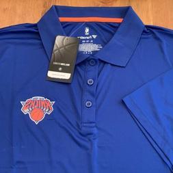 NEW Men's NBA NEW YORK KNICKS Golf Polo Shirt Sz XL