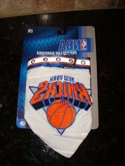 NEW NBA Basketball New York Knicks Pet Collar Bandana Large
