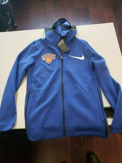 New Nike New York Knicks 2018-2109 NBA Showtime jacket Hoodi