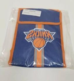 "New! New York Knicks Lunch Box Bag Cooler NBA  8"" x 11"" x 4"""