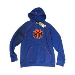 NEW NWT New York Knicks Basketball Adidas Men's Hoodie Pullo
