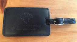 NEW! NY NEW YORK KNICKS BASKETBALL LEATHER  LUGGAGE TAG & OF