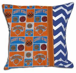 NEW NY New York Knicks NBA Basketball Decorative Throw Pillo