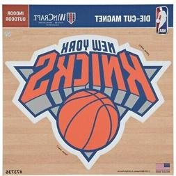 "New York Knicks 12"" x 12"" Car Magnet"