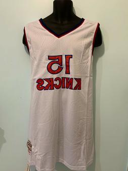 New York Knicks 15 Vernon Earl Monroe NBA Hardwood Classic J