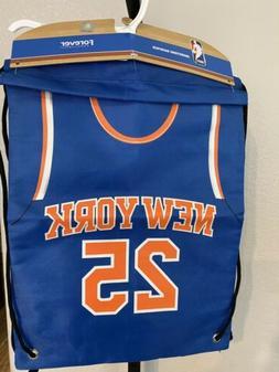 New York Knicks 25 Rose Drawstring Bag NWT
