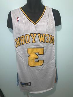 New York Knicks 3 Stephon Marbury NBA Hardwood Classic Swing