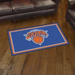 New York Knicks 3' X 5' Decorative Ultra Plush Carpet Area R