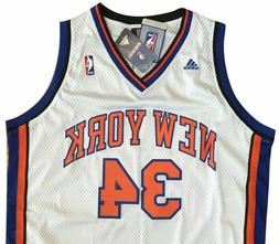 NEW YORK KNICKS #34 CURRY NBA Basketball adidas Swingman Hom