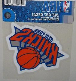 NEW YORK KNICKS 4 X 4 DIE-CUT DECAL OFFICIALLY LICENSED PROD
