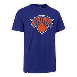 New York Knicks '47 Brand Blue Game Changer Super Rival T-Sh