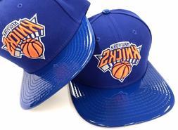 New York Knicks New Era 9Fifty 950 NBA Leather Solid Shine M