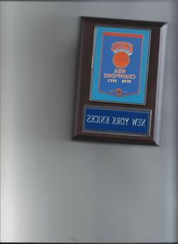 NEW YORK KNICKS BANNER PLAQUE NBA CHAMPIONS CHAMPS BASKETBAL