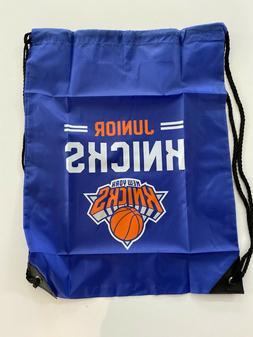 New York Knicks Basketball Junior Knicks Drawstring Bag Back
