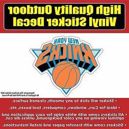 New York Knicks Basketball Vinyl Car Window Laptop Bumper St