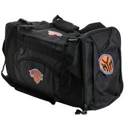 New York Knicks Black Roadblock Duffel Bag