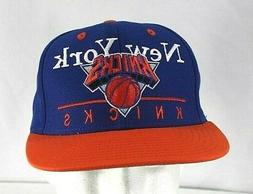 New York Knicks  Blue/Oranges  Baseball Cap Snapback