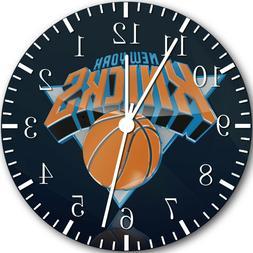 New York Knicks Frameless Borderless Wall Clock Nice For Gif