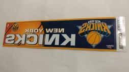 New York Knicks Bumper Strip Sticker