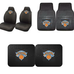 New York Knicks Car Truck Front Rear Awesome Floor Mats Set